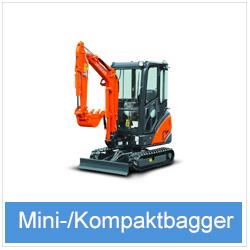 Mini- & Kompaktbagger